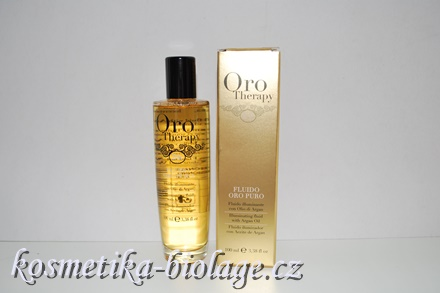 Fanola Oro Therapy Oro Puro  Illuminating Fluid With Argan Oil