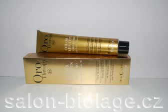 Fanola Oro Therapy Color Keratin 6.3 Golden Dark Blonde Golden