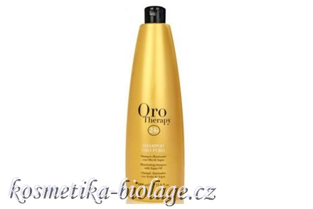 Fanola Oro Therapy Illuminating Shampoo With Argan Oil 1000 ml