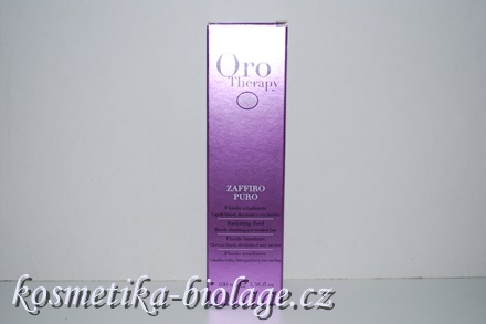 Fanola Oro Therapy Zaffiro Puro Radiating Fluid Blonde,Bleaching and  Streaked Hair