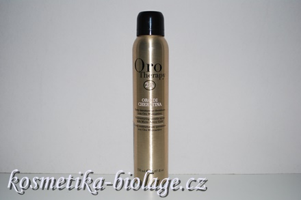 Fanola Oro Therapy Oro di Cheratina, Restructuring Kerating Spray with Micro-Active  Gold