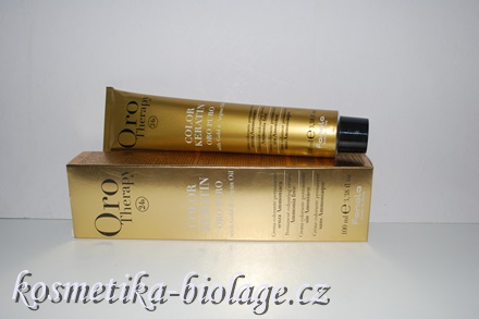 Fanola Oro Therapy Color Keratin 7.606 Rich Red Blonde Warm Red