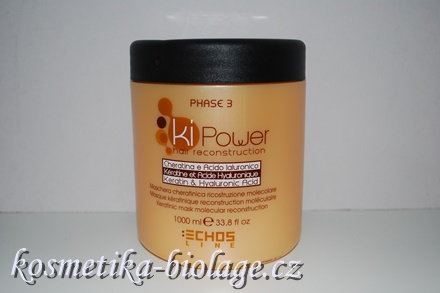 Echosline KI Power  Keratinic Mask Molecular Reconstruction 500 ml
