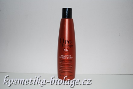 Fanola Oro Therapy Rubino Puro Keratin Shampoo 300 ml
