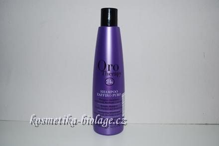 Fanola Oro Therapy Zaffiro Puro Keratin Shampoo 300 ml