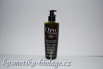 Fanola Oro Therapy Cioccolato Colouring Mask