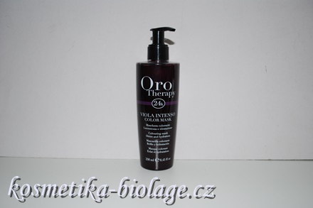 Fanola Oro Therapy Viola Intenso Colouring Mask