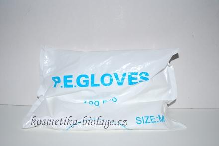 Jednorázové igelitové rukavice P.E.Glowes