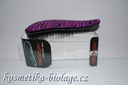 Detangler Purple Zebra