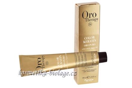 Fanola Oro Therapy Color Keratin 6.5 Mahogany Dark Blond Mahogany